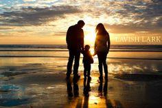 Posh Poses | Family | Sunset | Beach