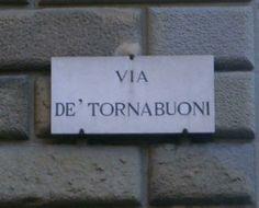Via de' Tornabuoni, Florence, Italy, home of all the designer shops
