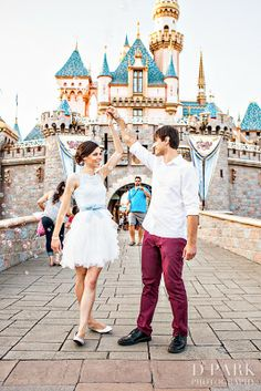 Neverland Nail Blog: Disneyland Engagement Photos!