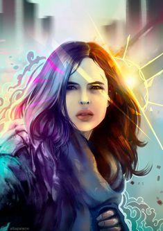 Jessica Jones por Alba-Palacio - Series TV | Dibujando.net
