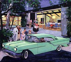 1957 Oldsmobile Golden Rocket 88 Holiday Coupé