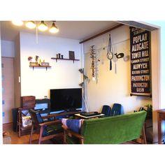 「わたし空間」 「メンズ部屋」 「一人暮らし」 「賃貸」 「バスロールサイン」 「Lounge」...etcが写っているsoraninさんのインテリア実例写真を紹介します。2014-02-22 05:18:06に撮影されました。