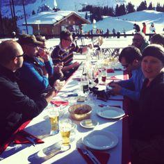 Lunch at L'Alpette