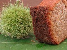 Recette cake à la farine de châtaignes par armelle. Ingrédients : châtaigne, oeuf, sucre, crème fraîche, farine