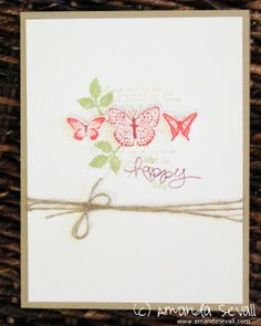 Amanda Sevall // 365 Cards: Oh Happy Day! using the Kindness Matters stamp set from Stampin Up!