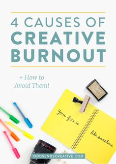We small business owners are hard workers. It comes from being truly passionate about what we do, as well as that nagging thought that we need to prove ourselves. The problem comes when creatives hustle too hard. This can lead to the worst kind of creative burnout! Learn how to avoid burnout altogether on the blog.