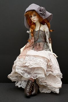 DARCY 59 by jeanoak, via Flickr Bjd Dolls, Doll Toys, Barbie Dolls, Antique Dolls, Vintage Dolls, Haunted Dolls, Monster High Dolls, Cosplay, Doll Crafts