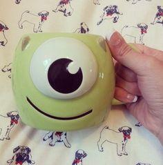 It's a mike mug, oh my gosh
