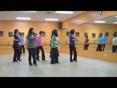 Dancing In Circles Line Dance (Dance & Teach in English & 中文)
