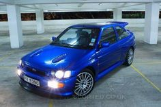 Ford Escort RS Cosworth - the aspiration of many a Ford fan Bike Rally, Rally Car, Ford Motor Company, My Dream Car, Dream Cars, Ford Motorsport, Street Racing Cars, Gt Turbo, Ford Rs