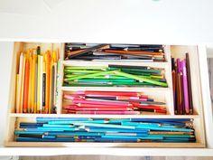 Bastelsachen ordnen: DIY-Materialien mit System verstauen - DaWanda Blog