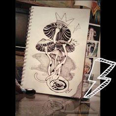 #Art #arte #ilustraciones #illustration #drawing #dibujo #dibujando #naturaleza #nature