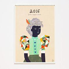 FRANKIE Wandkalender 2016