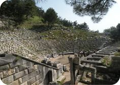 Priene in ancient Ionia, Turkey