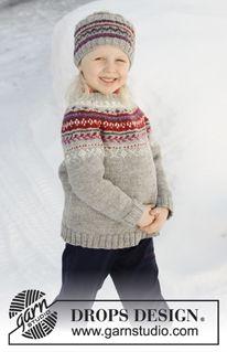 Winter Berries   DROPS 181-16 - Modèles tricot gratuits de DROPS Design  Pull Enfant 001937eb119