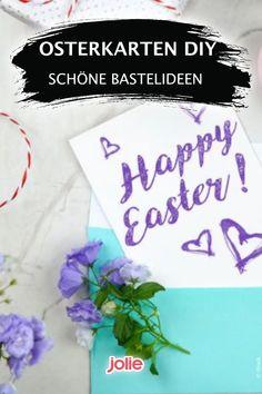 Hier sind die besten Osterkarten Ideen für Kinder und Erwachsene. Cool Diy, Kids, Easter Bunny, Diy Decoration, Easter Activities, Flowers, Cool Crafts