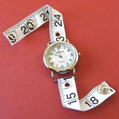 Tape Measure Watch