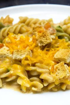 """Cheap Chicken Noodle Casserole   """"This was quite tasty and fairly simple to make. """" #cheaprecipes #cheapmeals #budgetfriendly #budgetrecipes #frugalcooking #frugalmeals #cheapdinnerideas #cheap #budget #economical #frugal Tuna Casserole Recipes, Chicken Noodle Casserole, Frugal Meals, Budget Meals, Easy Chicken Recipes, Pasta Recipes, Cake Recipes, Cheap Dinners, Healthy Dinner Recipes"""