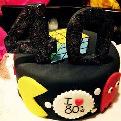 I ❤️ 80's Cake