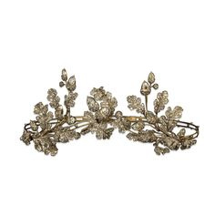 Gold, silver and diamond tiara, made by Hunt & Roskell (British Museum)