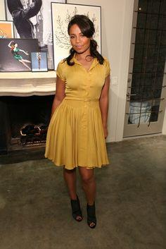 Sanaa Lathan ¤ love this dress!!