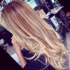Hair colour, ombré! It's a new look..