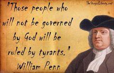 """William Penn's """"Holy Experiment"""" of Philadelphia"""