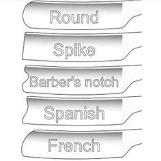 types of straight razors