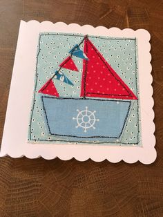 A personal favourite from my Etsy shop https://www.etsy.com/uk/listing/591426142/boat-baby-brithday-blank-card-free