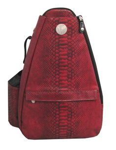 Reptilian Scarlet Small Sling Tennis Bag, found at Life Is Tennis!