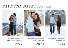 Modern Storyline Save the Date by Lehan Veenker