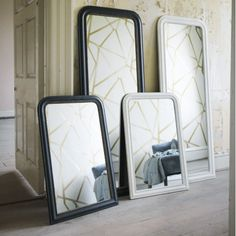Beaded Antique Mirrors - Wall Mirrors - Mirrors - Lighting