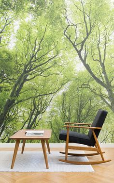 desks for small spaces 193 best forest wallpaper murals images 13059