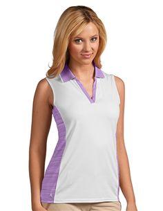 Antigua Women's S/L Primp 100764 Golf Polo by Antigua. Buy it @ ReadyGolf.com