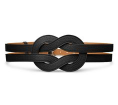 Hermes Gipsy belt. This would look great belted over a cashmere wrap sweater.