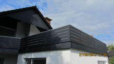 Bilder eines imposanten Balkons welcher mit unseren anthrazitfarbenen Alu-Balkonbrettern verkleidet wurde   http://www.rexin-shop.de/rexoboard-alubalkonbretter-anthrazit-mit-struktureffekt-p-1066.html