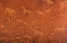 Twyfelfontein rock paintings. Namibia. BelAfrique your personal travel planner - www.BelAfrique.com