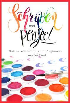 Workshop van Karin Joan! Kijk op haar site zo leuk!