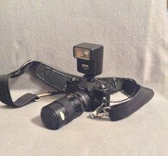 Vintage Vivitar XC-4 35mm SLR Camera With Accessories on Etsy, $55.00