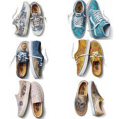 ccc6d516ecc Vans x Vincent Van Gogh Collaboration   Sneakers