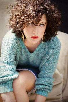 Annie Mac has similar hair to me - I want this length