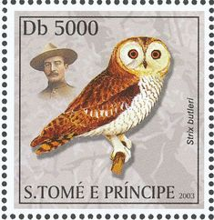 Hume's Owl stamps - mainly images - gallery format