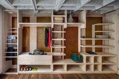 Uma reforma que redescobre um apartamento incrível - limaonagua