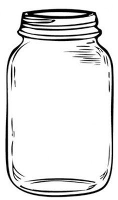 finally found it free mason jar template tag pinterest jar rh pinterest com mason jar clip art black and white mason jar clip art pictures