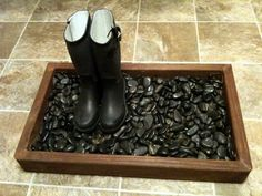 DIY Boot & Shoe Tray | The Oregon Coupon Guide