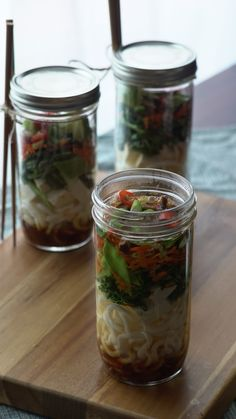 instant noodle cup game with this flavorful, veggie-packed udon jar ...