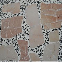 Terrazzo Tile made of marble and granite chips from Persiana Stone. Terrazzo Tile made of marble and Floor Patterns, Tile Patterns, Textures Patterns, Print Patterns, Pattern Ideas, Bathroom Floor Tiles, Tile Floor, Terrazzo Tile, Tiles Texture