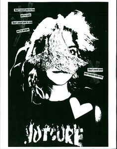 e Punk Art, Zine, Typography, Black And White, Movie Posters, Image, Letterpress, Letterpress Printing, Film Poster