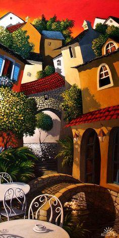 Городской пейзаж Miguel Freitas