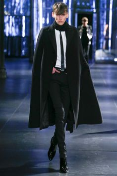 Rock'n'Roll is in the Soul: Saint Laurent Fall 2015 Menswear - Collection - Gallery - Style.com